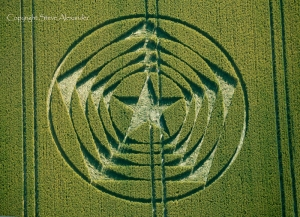 Crop Circle, Sussex, UK