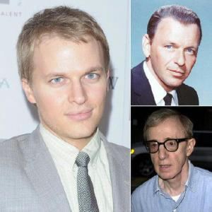 Ronan Farrow, son of Mia.  Who's your daddy?