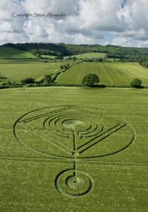 2014 Crop Circle, UK Communications from the Earth, in LA's opinion.